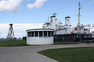 Great Lakes Maritime Academy - Image: Great Lakes Maritime Academy Building Traverse City Michigan