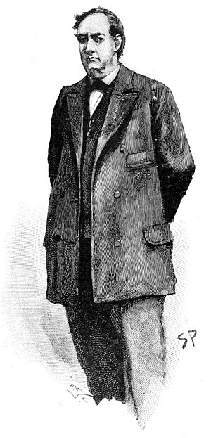 The Adventure of the Greek Interpreter - Mycroft Holmes, as depicted by Sidney Paget in the Strand Magazine
