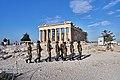 Greek soldiers on the Acropolis, July 30, 2019.jpg