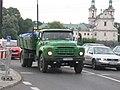 Green ZiL-130 on Grunwaldzkie roundabout in Kraków.jpg