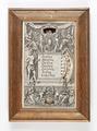 Gregoriansk kalendarium med veckodagar, datum, månader och stjärntecken - Skoklosters slott - 93146.tif