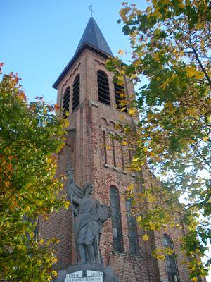 Grenay, Pas-de-Calais - The church of Grenay