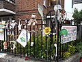 Grenfell Tower fire memorials in May 2018 03.jpg
