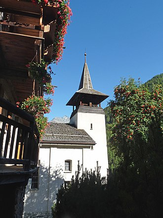 Grimentz - Grimentz village church