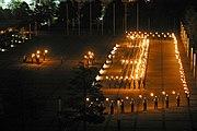 Großer Zapfenstreich auf dem Münchner Platz in Bonn