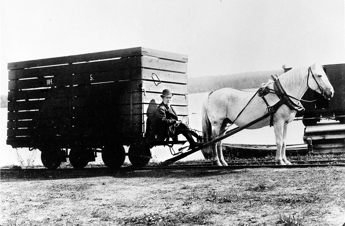 sveriges första järnväg