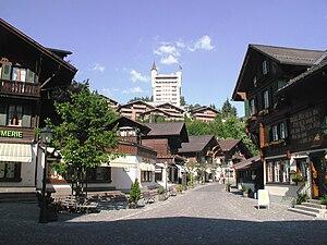 Saanen - Gstaad village