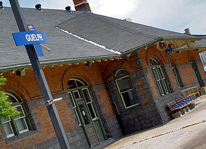 English: Guelph Train Station