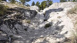 Guernsey (Wyoming) - Oregon Trail Ruts 16-9-2014 11-06-06.JPG