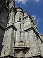 Guingamp (22) Basilique N.D. Façade sud 01.JPG