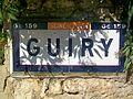 Guiry-en-Vexin (95), plaque Michelin de 1932, rue St-Nicolas.jpg