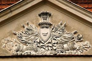 Łodzia coat of arms - Image: Gultowy 2 Apr 05