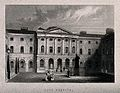Guy's Hospital, Southwark; inside the courtyard. Engraving b Wellcome V0013710EBL.jpg