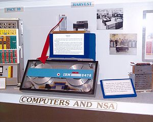 IBM 7950 Harvest - A HARVEST tape cartridge.
