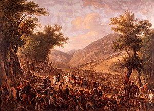 Johann Nepomuk Hoechle - The Crossing of the Vosges.