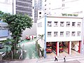 HK 觀塘 Kwun Tong 開源道 Hoi Yuen Road MTR exit footbridge view October 2018 SSG 20.jpg