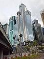HK bus 115 tour view 灣仔區 Wan Chai District 堅拿道天橋 Canal Road Bridge flyover 去 香港紅磡過海隧道 Cross Harbour Tunnel June 2020 SS2 18.jpg