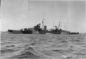 HMS Phoebe (43) - Image: HMS Phoebe FL5271