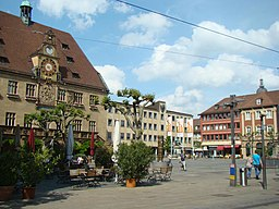 Marktplatz in Heilbronn