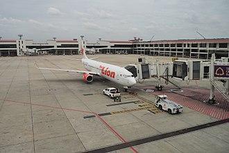 Thai Lion Air - A Thai Lion Air Boeing 737-900ER