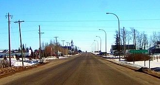 Alberta Highway 59 - Highway 59 through Valhalla Centre