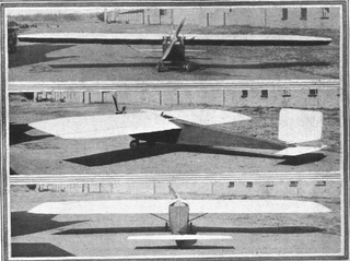 Handasyde Monoplane