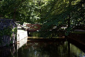 Hagley Museum and Library - Image: Hagley Mill Race