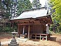 Haiden of Kasuga-jinja shrine,Rifu town.JPG