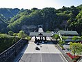Hakuba-Nagano Toll Road toll plaza.jpg