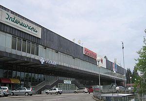 Die Hala Tivoli in Ljubljana