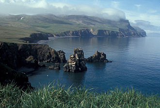 Hall Island (Alaska) - Image: Hall Island, Bering Sea
