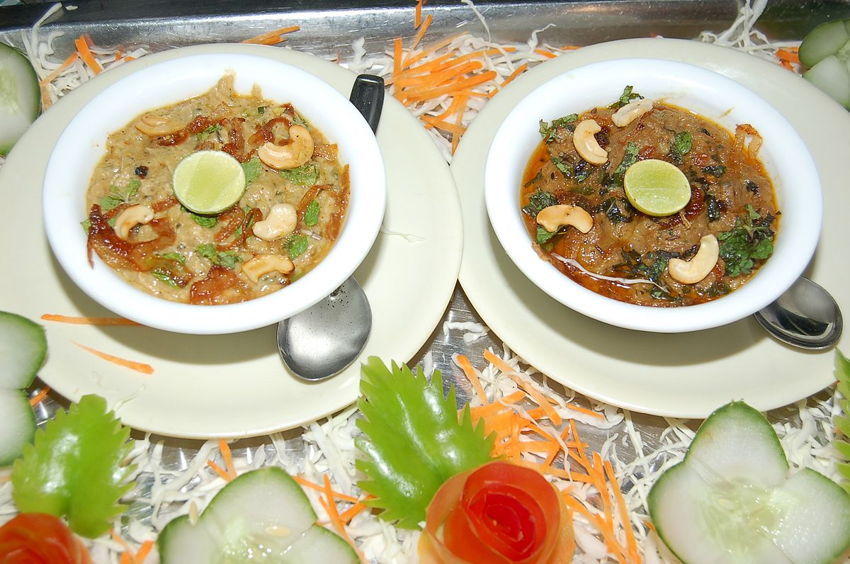 Hyderabadi haleem wikipedia for Awadhi cuisine history