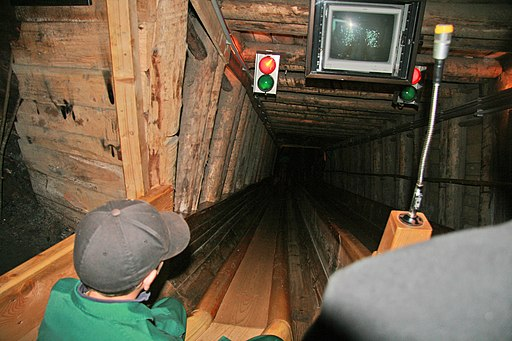 Hallstatt Salt mine slide 1