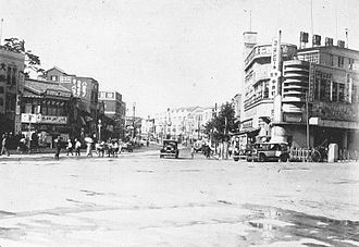 Hamamatsu - Hirokoji Street in the 1930s