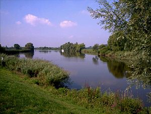 Hamme (river) - Image: Hammemündung