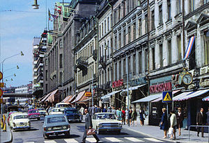 Dagen H - Left-hand traffic in Stockholm in 1966