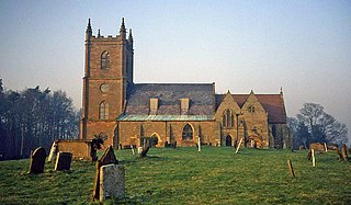 St Mary the Virgin, Hanbury Church in Worcestershire, England