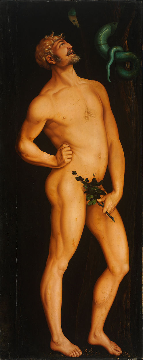 BALDUNG GRIEN, Hans Adam and Eve (detail) 1524