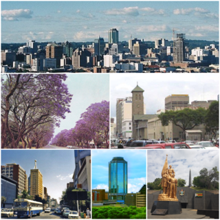 Harare City and Province in Zimbabwe