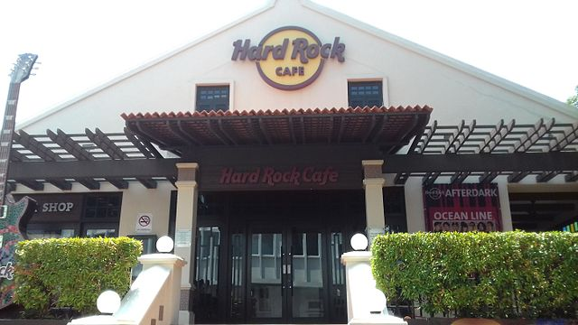 Menu At Hard Rock Cafe Melaka
