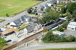 Harlech railway station