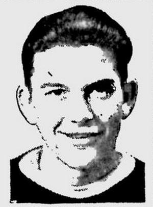 Harry Watson (ice hockey, born 1923) - Watson pictured with the Saskatoon Quakers, circa 1941