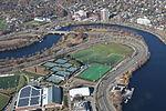 Harvard University Allston athletic fields aerial.JPG