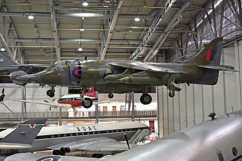 File:Hawker Siddeley Harrier GR.3 'XZ133 - 10' (25304205847).jpg