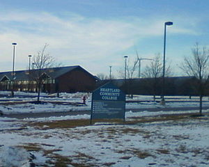 Heartland Community College - Heartland Community College in Feb. 2015