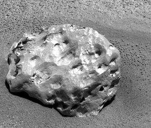 Heat Shield Rock - Image: Heat Shield Rock 1