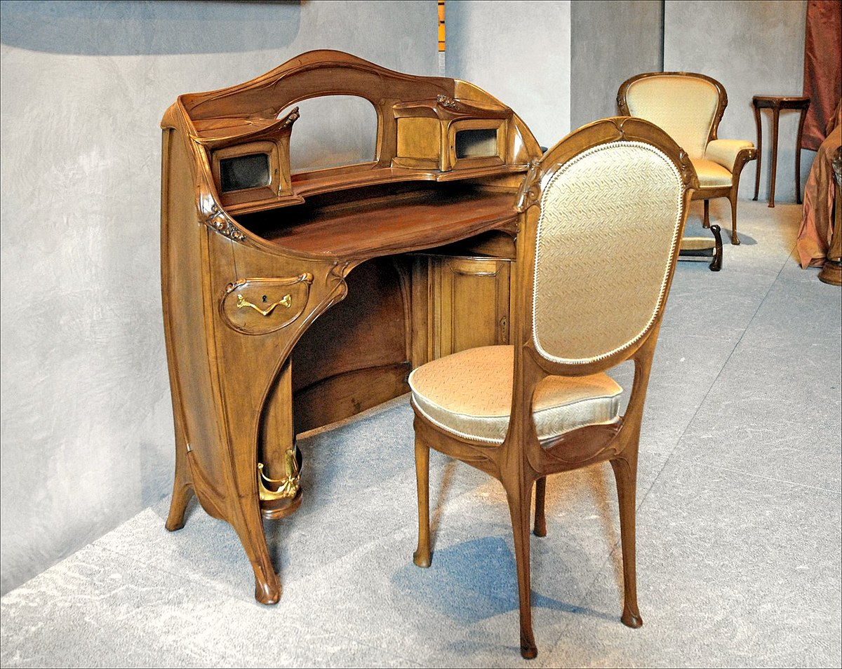 Art nouveau furniture wikipedia for Furniture furniture