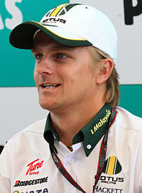 Heikki Kovalainen under Malaysias Grand Prix 2010.