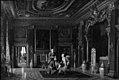 Heinrich Hansen - Gustav III's soveværelse på Drottningholm - KMS1141 - Statens Museum for Kunst.jpg