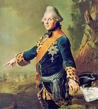 Prince Henry of Prussia (1726–1802) - Prince Henry (by J. H. Tischbein, 1769)